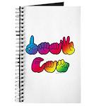 DEAF CAN Rainbow Journal