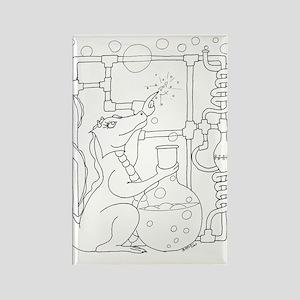 Dragon Bubbles - Pop Rectangle Magnet