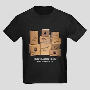 Geologist Moving Wisdom Kids Dark T-Shirt