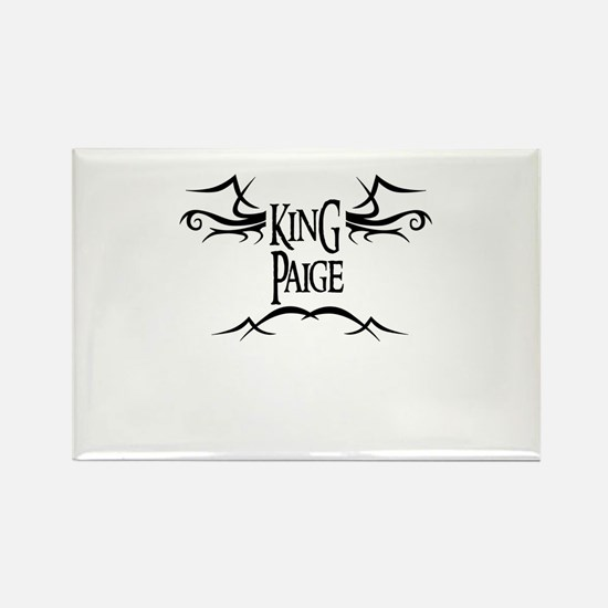 King Paige Rectangle Magnet