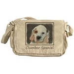 Clumber Spaniel Messenger Bag