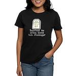 Chicken Chokes Women's Dark T-Shirt