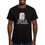 Chicken Chokes Men's Fitted T-Shirt (dark)