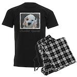 Clumber Spaniel Men's Dark Pajamas