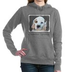 Clumber Spaniel Women's Hooded Sweatshirt