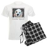 Clumber Spaniel Men's Light Pajamas