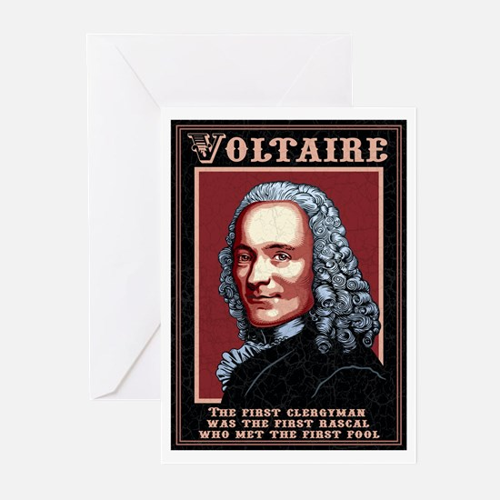 Voltaire -The First Greeting Cards (Pk of 10)