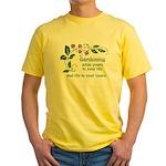 Gardening adds Years Yellow T-Shirt