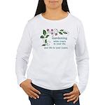 Gardening adds Years Women's Long Sleeve T-Shirt