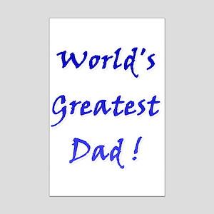 World's Greatest Dad Mini Poster Print