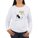Bar Down Women's Long Sleeve T-Shirt