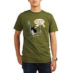 Bar Down Organic Men's T-Shirt (dark)