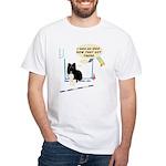 Bar Down White T-Shirt