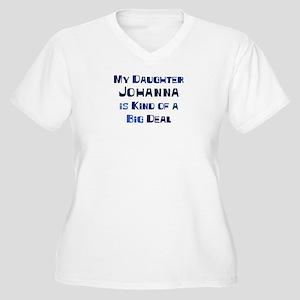 My Daughter Johanna Women's Plus Size V-Neck T-Shi
