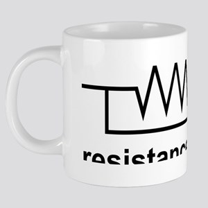 Resistance is Futile 20 oz Ceramic Mega Mug