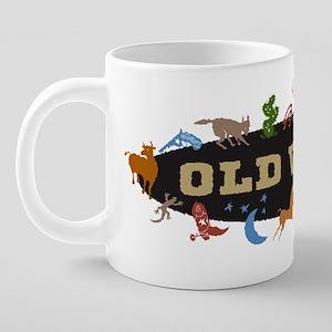 western 20 oz Ceramic Mega Mug