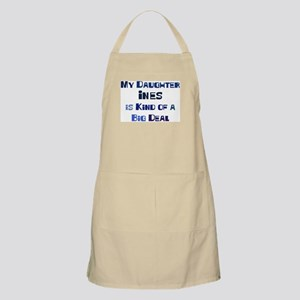 My Daughter Ines BBQ Apron