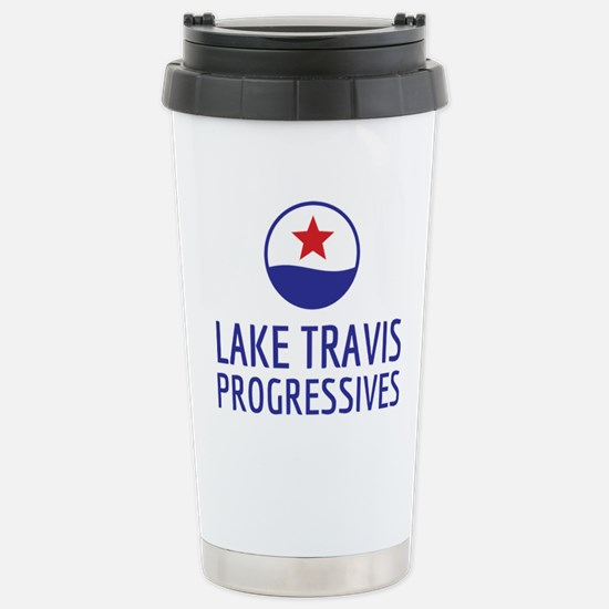 Lake Travis Progressive Stainless Steel Travel Mug