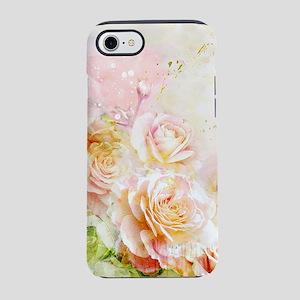 Watercolor Roses iPhone 7 Tough Case