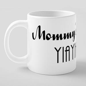 4-yiayia 20 oz Ceramic Mega Mug