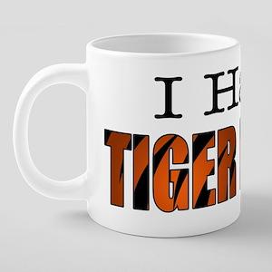 TIGERBLOOD 20 oz Ceramic Mega Mug