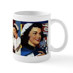 Retro Nurse Mug