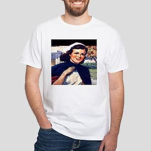 Senior Nurse White T-Shirt