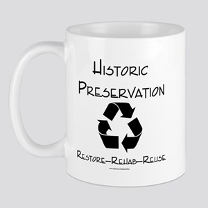 Preservation is Recycling Mug