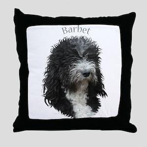 Barbet Throw Pillow