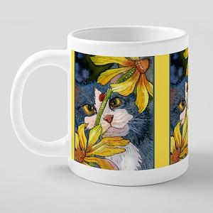 cat-susan-mug 20 oz Ceramic Mega Mug
