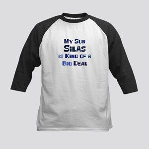 My Son Silas Kids Baseball Jersey