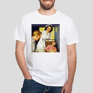 At Spencer White T-Shirt