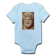 Greek Philosophers: Aristotle Infant Creeper