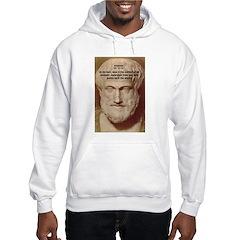 Greek Philosophers: Aristotle Hoodie