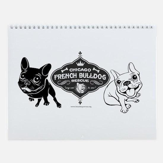 Unique Bulldog Wall Calendar