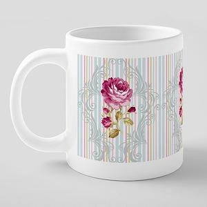 Floribunda-8 20 oz Ceramic Mega Mug