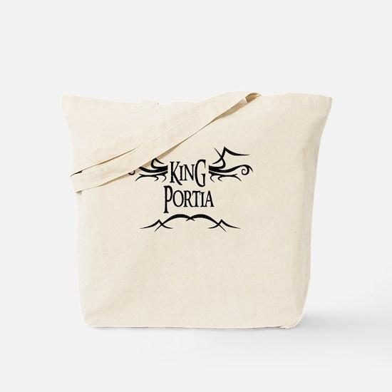 King Portia Tote Bag