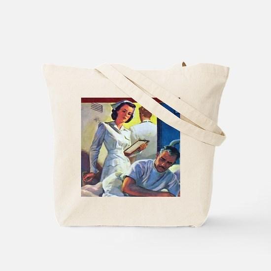 Cherry Ames Veteran Nurse Tote Bag