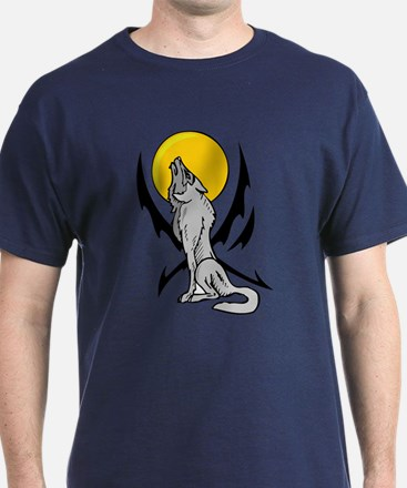 Howling Wolf Tattoo T-Shirt