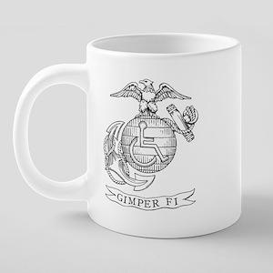 gimperfimug 20 oz Ceramic Mega Mug