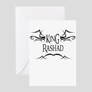 King Rashad Greeting Card