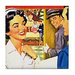 Department Store Nurse Tile Coaster