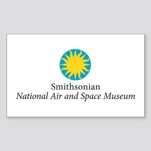 Air & Space Museum Rectangle Sticker