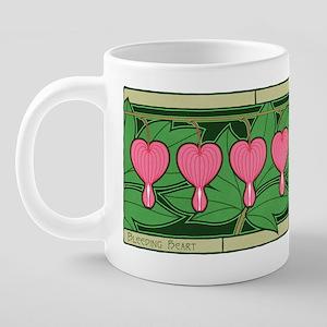 BleedingHeartShirt 20 oz Ceramic Mega Mug