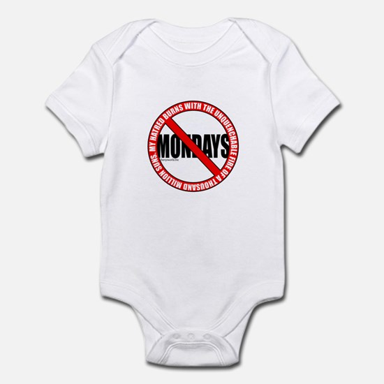 No Mondays2 Infant Bodysuit