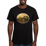 Van Gogh's Women Men's Fitted T-Shirt (dark)