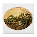 Van Gogh's Women Tile Coaster