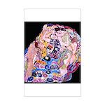 Klimt's The Virgin Mini Poster Print
