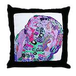Klimt's Virgin #2 Throw Pillow
