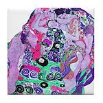 Klimt's Virgin #2 Tile Coaster